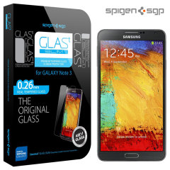 Spigen GLAS.t SLIM Tempered Glass Screen Protector for Galaxy Note 3