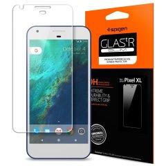 Spigen GLAS.tR SLIM Google Pixel XL Glass Screen Protector