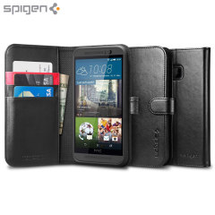 Spigen HTC One M9 Wallet S Case - Black