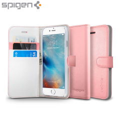 Spigen iPhone 6S Wallet S Case - Pink