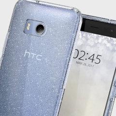 Spigen Liquid Crystal Glitter HTC U11 Shell Case - Crystal Quartz