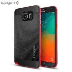 Spigen Neo Hybrid Carbon Samsung Galaxy Note 5 Case - Dante Red