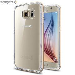 Spigen Neo Hybrid CC Samsung Galaxy S6 Case - Champagne Gold