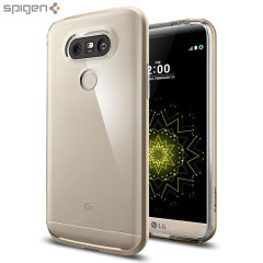 Spigen Neo Hybrid Crystal LG G5 Case - Champagne Gold