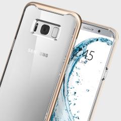 Spigen Neo Hybrid Crystal Samsung Galaxy S8 Case - Champagne Gold