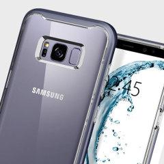 Spigen Neo Hybrid Crystal Samsung Galaxy S8 Plus Case - Orchid Grey