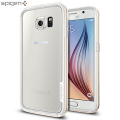 Spigen Neo Hybrid Ex Samsung Galaxy S6 Bumper Case - Champagne Gold