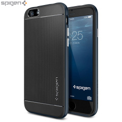Spigen Neo Hybrid iPhone 6 Case - Metal Slate