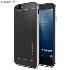 Spigen Neo Hybrid iPhone 6 Case - Satin Silver