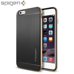 Spigen Neo Hybrid iPhone 6 Plus Case - Champagne Gold