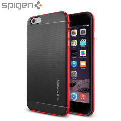 Spigen Neo Hybrid iPhone 6 Plus Case - Dante Red