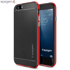 Spigen Neo Hybrid iPhone 6S / 6 Case - Dante Red