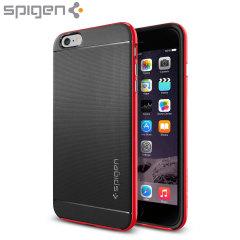 Spigen Neo Hybrid iPhone 6S Plus / 6 Plus Case - Dante Red