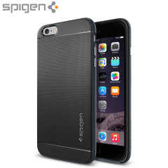 Spigen Neo Hybrid iPhone 6S Plus / 6 Plus Case - Metal Slate