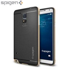 Spigen Neo Hybrid Samsung Galaxy Note 4 Case - Champagne Gold