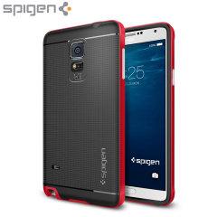 Spigen Neo Hybrid Samsung Galaxy Note 4 Case - Electric Red