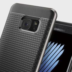 Spigen Neo Hybrid Samsung Galaxy Note 7 Case - Gunmetal Grey