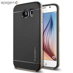 Spigen Neo Hybrid Samsung Galaxy S6 Case - Champagne Gold