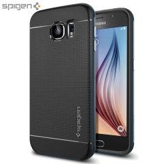 Spigen Neo Hybrid Samsung Galaxy S6 Case - Metal Slate