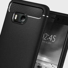 Spigen Rugged Armor HTC U11 Tough Case - Black