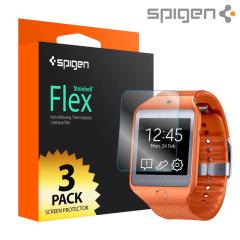 Spigen Samsung Gear 2 Neo Screen Protector Steinheil Flex - 3 Pack