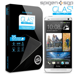 Spigen SGP HTC One M7 GLAS.t SLIM Tempered Glass Screen Protector