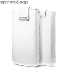 Spigen SGP iPhone 5 Crumena Leather Pouch - White
