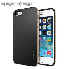 Spigen SGP Neo Hybrid Case for iPhone 5S / 5 - Champagne Gold