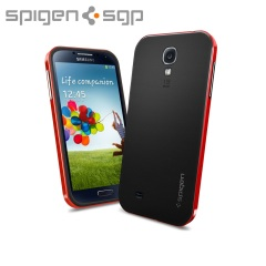 Spigen SGP Neo Hybrid Case for Samsung Galaxy S4 - Red