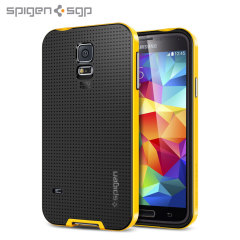 Spigen SGP Neo Hybrid Case for Samsung Galaxy S5 - Yellow