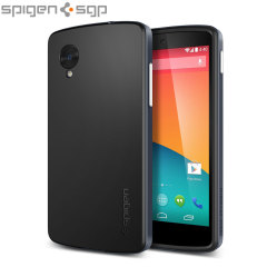 Spigen SGP Neo Hybrid for Google Nexus 5 - Metal Slate