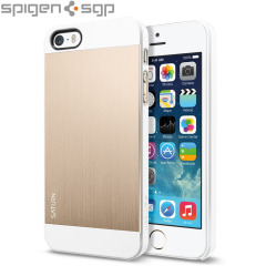 Spigen SGP Saturn for iPhone 5S / 5 - Champagne Gold