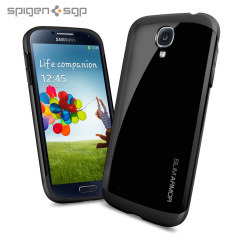 Spigen SGP Slim Armour Case for Samsung Galaxy S4 - Black