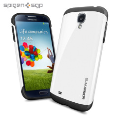 Spigen SGP Slim Armour Case for Samsung Galaxy S4 - White