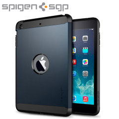Spigen SGP Tough Armor Case for iPad Mini 2 - Metal Slate