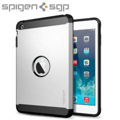 Spigen SGP Tough Armor iPad Mini 3 / 2 Case - Satin Silver