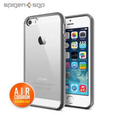 Spigen SGP Ultra Hybrid for iPhone 5S / 5 - Grey