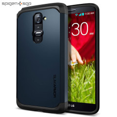Spigen Slim Armor Case for LG G2 - Metal Slate