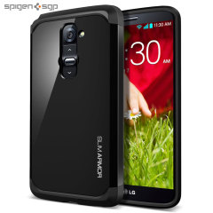 Spigen Slim Armor Case for LG G2 - Soul Black
