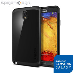Spigen Slim Armor Galaxy Note 3 Japanese Model Case - Soul Black