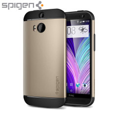 Spigen Slim Armor HTC One M8 Case - Champagne Gold