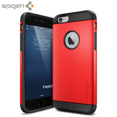 Spigen Slim Armor iPhone 6 Case - Electric Red
