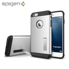 Spigen Slim Armor iPhone 6 Plus Tough Case - Satin Silver