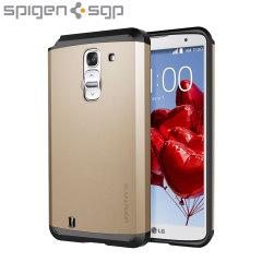 Spigen Slim Armor LG G Pro 2 Case - Champagne Gold