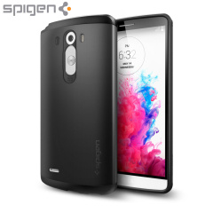 Spigen Slim Armor LG G3 Case - Smooth Black