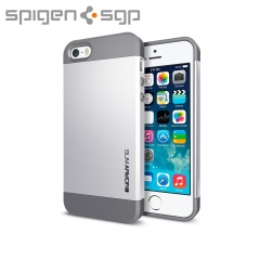 Spigen Slim Armor S Case for iPhone 5S / 5 - Silver