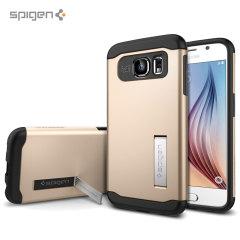 Spigen Slim Armor Samsung Galaxy S6 Case - Gold