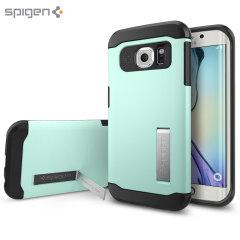 Spigen Slim Armor Samsung Galaxy S6 Edge Case - Mint