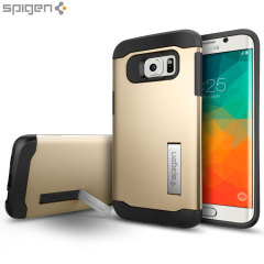 Spigen Slim Armor Samsung Galaxy S6 Edge Plus Case - Champagne Gold