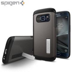 Spigen Slim Armor Samsung Galaxy S7 Case - Gunmetal
